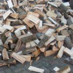 Los gestort hout